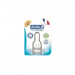 DODIE - 2 tétines en silicone- 3 vitesses - débit 3