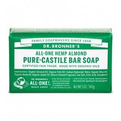 DR.BONNER'S - Pain de savon amande - 140 g