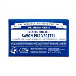 DR.BRONNER'S - Pain de savon menthe poivrée - 140 g