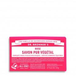 DR.BRONNER'S - Pain de savon rose - 140 g