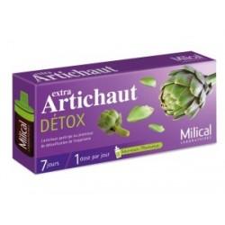 Extra artichaut détox - 7 ampoules de 10 ml - milical