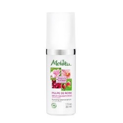 MELVITA - Pulpe de rose sérum repulpant éclat visage - 30ml