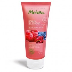 MELVITA - Coulis de douche pulpe de fruits rouges 200 ml