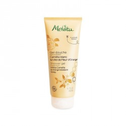 MELVITA - Gel douche camélia blanc & miel de fleur d'oranger - 200ml