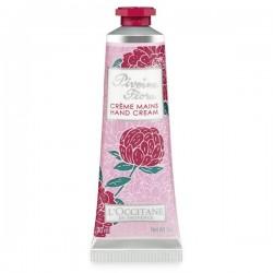 L'OCCITANE - Crème mains pivoine Flora - 30 ml