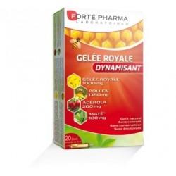 GELÉE ROYALE DYNAMISANT BOITE DE 20 AMPOULES FORTE PHARMA