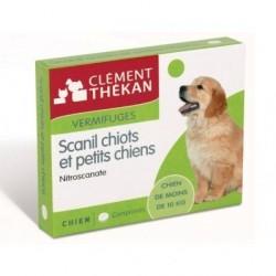 Clément Thékan Scanil Vermifuges Chiot et Petits Chiens 6 Comprimés