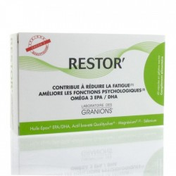 GRANIONS RESTOR' EPA/DHA - 60 CAPSULES