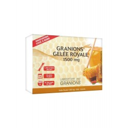 GRANIONS GELEE ROYALE 1500 mg - 15 STICKS A BOIRE