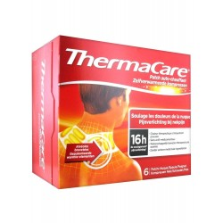 THERMACARE PATCHS AUTO-CHANFFANTS - 6 PATCHS NUQUE, EPAULES, POIGNETS