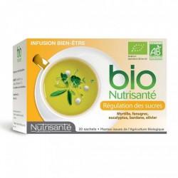 NUTRISANTE INFUSION BIEN-ÊTRE - REGULATION DES SUCRES