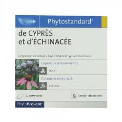 PHYTOSTANDARD - DE CYPRES ET D'ECHINACEE - 30 COMPRIMES