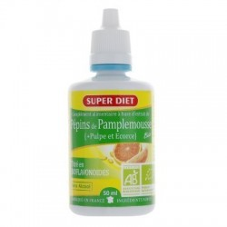 Super Diet extrait de pépins de pamplemousse BIO 50 ml