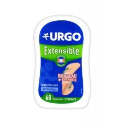URGO - EXTENSIBLE PANSEMENT PROTECTEUR - 60 PANSEMENTS