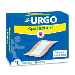 URGO - SPARAPLAIE - PANSEMENT ADHESIF STERILE - 10 PANSEMENTS