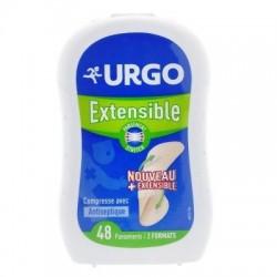 URGO - EXTENSIBLE PANSEMENT PROTECTEUR - 48 PANSEMENTS