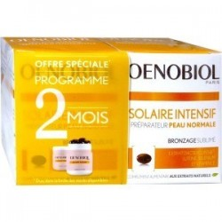 OENOBIOL - SOLAIRE INTENSIF PREPARATEUR PEAU NORMALE - LOT DE 2 X 30 CAPSULES