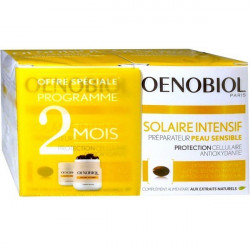 OENOBIOL - SOLAIRE INTENSIF PREPARATEUR PEAU SENSIBLE - LOT DE 2 X 30 CAPSULES