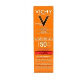 VICHY - IDEAL SOLEIL - SOIN ANTIOXYDANT 3 EN 1 ANTI-ÂGE SPF 50 - 50 ML