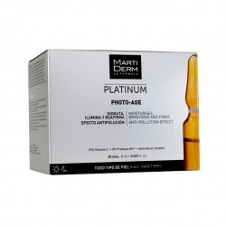 MARTI DERM - PLATINUM PHOTO-AGE - AMPOULES ANTI-ÂGE