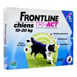 FRONTLINE TRI-ACT - SOLUTION POUR SPOT-ON POUR CHIENS XS 2-5 KG