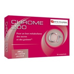 FORTE PHARMA - CHROME 200 - 30 COMPRIMES