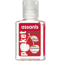 ASSANIS - GEL ANTIBACTERIEN POCKET PARFUM CERISE - 20 ML