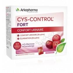 ARKOPHARMA - CYS-CONTROL - CONFORT URINAIRE - ARÔME FRAMBOISE - 20 SACHETS