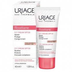 URIAGE - ROSELIANE - CREME RICHE ANTI-ROUGEURS - 50 ML