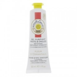 ROGER & GALLET - GEL PURIFIANT MAINS & ONGLES - FLEUR D'OSMANTHUS - 30 ML