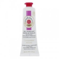 ROGER & GALLET - GEL PURIFIANT MAINS & ONGLES - GINGEMBRE ROUGE - 30 ML