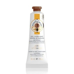 ROGER & GALLET - GEL PURIFIANT MAINS & ONGLES - BOIS D'ORANGE - 30 ML