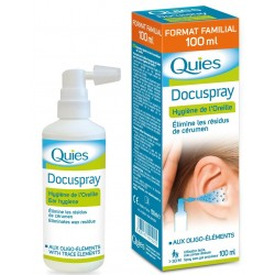 QUIES - DOCUSPRAY - HYGIENE DE L'OREILLE - 100 ML