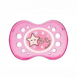 DODIE - Sucette Silicone Orthodontique 0-6 Mois Nuit