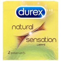 DUREX NATURAL SENSATION X2
