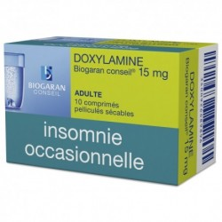 DOXYLAMINE 15MG BIOG CONS CP SEC10