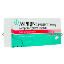 ASPIRINE PROTECT 100MG CPR 30