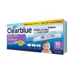 Clearblue Test D'ovulation Digital 2 Hormones - Boîte de 10