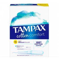 TAMPAX COTTON COMFORT REGULIER X16