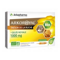 Trésor de la ruche 1000mg 20 ampoules arkoroyal arkopharma