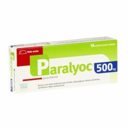 Paralyoc 500 mg 16 comprimés orodispersibles