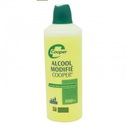 ALCOOL MODIFIE COOPER, 500 ml Grand modèle