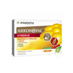 ARKOPHARMA ARKOROYAL DYNERGIE 20 AMPOULES