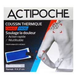 ACTIPOCHE COUSSIN CHAUD/FROID 11x27 CM