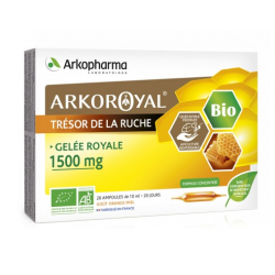 ARKOPHARMA GELEE ROYALE BIO 1500MG 20 AMP 10ML