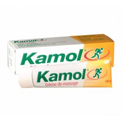 KAMOL CREME DE MASSAGE CHAUFFANTE 100G