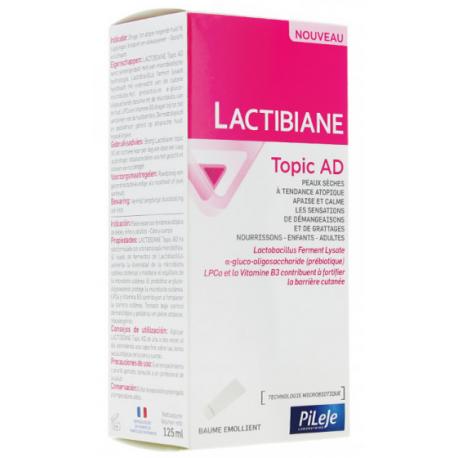 LACTIBIANE TOPIC AD BAUME EMOLLIENT 125ML