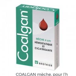 COALGAN OUATE HEMOSTATIQUE MECHE DE 4CM