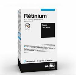 RETINIUM 28 COMPRIMES + 28 CAPSULES SANTE DES YEUX NHCO