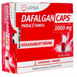 Dafalgan Caps 1000mg 8 gélules